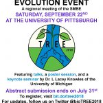 2nd Annual Three Rivers Evolution Event (TREE)